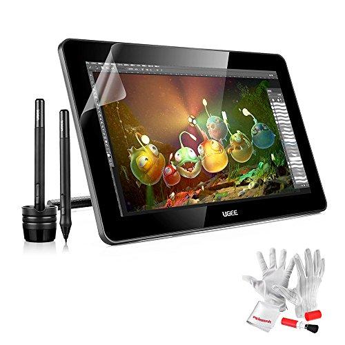 UGEEHK156015.6インチ  IPS 液晶ペンタブレット HD解像度 グラフィックスモニター 日本語説明書提供
