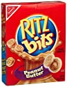 Ritz Bits Sandwich Crackers, Peanut Butter, 7.5-Ounce Boxes (Pack of 6)