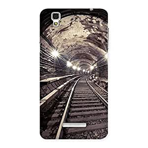 Tunnel Track Back Case Cover for YU Yureka Plus