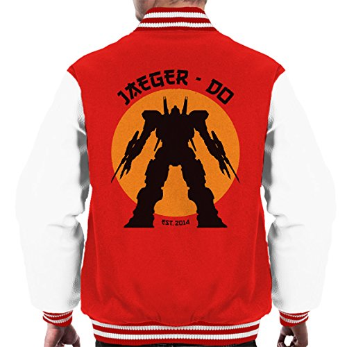 Jaeger Do Pacific Rim Karate Kid Men's Varsity Jacket