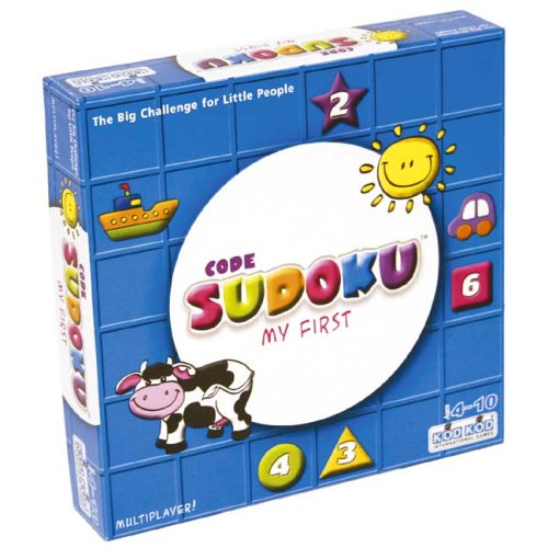 "Cheap Fun Kodkod ""My First Sudoku"" -Affordable Gift for your Little One! Item #LMID-1461 (B000CSQ5ZO)"