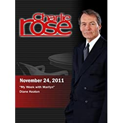 "Charlie Rose - ""My Week with Marilyn"" / Diane Keaton (November 24, 2011)"
