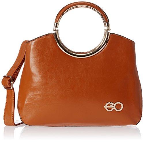 E2O Fashion Women's Satchel Bag (Khakhi) (0244-khakhi)