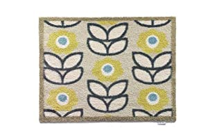 Hug Rug Dirt Trapper Washable Door Mat 65 x 85cm - Flower Power Home 17 from Hug Rug