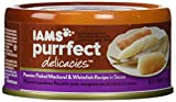 Iams Purrfect Delicacies Premier Flaked Mackerel & Whitefish Recipe In Sauce