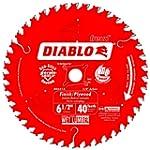 Diablo D0641X 6-1/2 X 40 Finishing Bl...