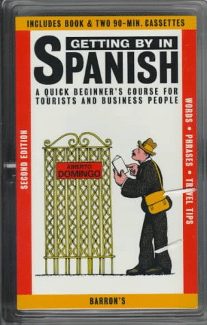 Getting By in Spanish: with Audiocassettes