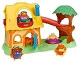 Playskool Weebles Goldilocks/ Adventure Cottage