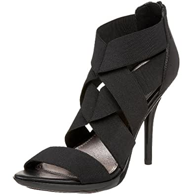 Fergie Women's Deception Dress Sandal,Black,5 M US