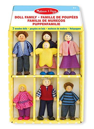 Melissa & Doug Wooden Doll Family