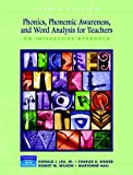 img - for Phonics, Phonemic Awareness, and Word Analysis for Teachers: An Interactive Tutorial (8th Edition) book / textbook / text book