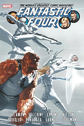 Fantastic Four by Jonathan Hickman Omnibus Volume 2 (Marvel Omnibus Fantastic Four compare prices)