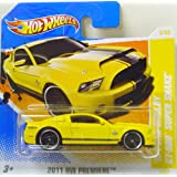 Hot Wheels 2010 Ford Shelby GT-500 Super Snake In Giallodi Hot Wheels