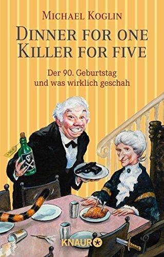 Buchseite und Rezensionen zu 'Dinner for One - Killer for Five' von Michael Koglin