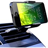 Koomus Air Vent Universal Smartphone Car Mount Holder Cradle for iPhone 6 6+ 5 5S 5C 4 4S Samsung Galaxy S5 S4 S3 Note 3 and all Smartphones in Black
