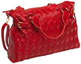Kids Line Woven City Changing Bag (Red)