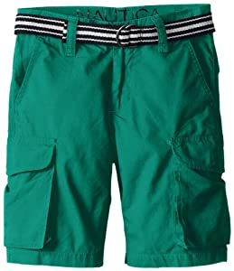 Nautica Boys Belted Cargo Short by Nautica