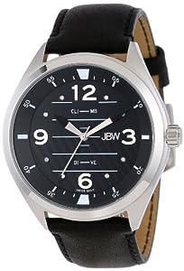 JBW Men's J6282-setB Interchangeable Aviation-Inspired Dial 8 Diamonds Watch Set