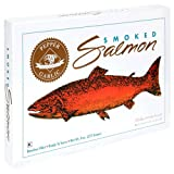 Alaska Smokehouse Smoked Salmon, Pepper Garlic, 4-Ounce Gift Boxes (Pack of 4)