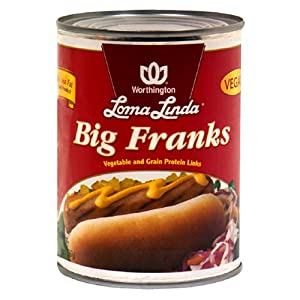 Loma Linda Big Franks 20-ounce Cans Pack Of 12 from Loma Linda