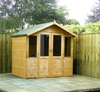 7' x 5' Traditional Summerhouse from Buttercup Farm