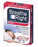 Breathe Right Extra, 10-Count (Pack of 2)