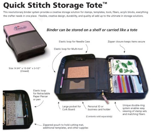 Timeless Touches Quick Stitch Storage Tote