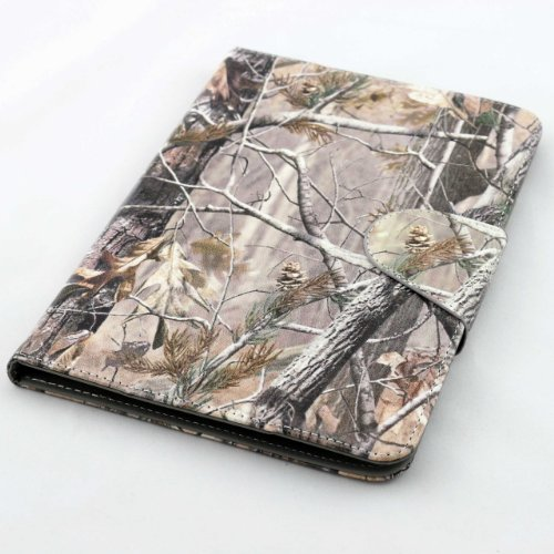 Universal 7 & 8 Inch Tablet Pc Case (7Co) Fits Verizon Wireless Ellipsis 7 (Camouflage Camo Flag Realtree Mossy Oak Hunting)