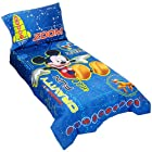 Mickey Mouse Toddler Bed Set - 4 Pieces