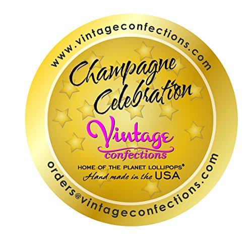 Vintage Confections Champagne Lollipops