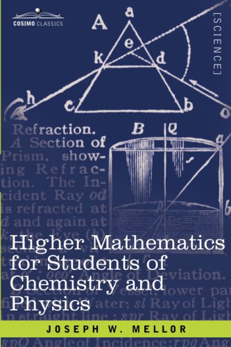 Higher Mathematics for Students of Chemistry and Physics