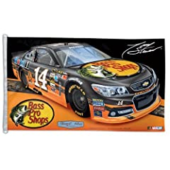 Tony Stewart 2013 Bass Pro Shops 3 x 5 Flag by WinCraft