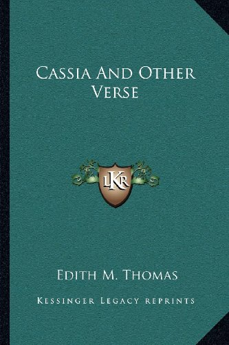 Cassia and Other Verse