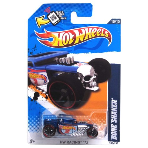 2012 Hot Wheels HW Racing Bone Shaker Blue/White #180/247 - 1
