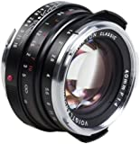 Voigtlander Nokton 40mm f/1.4 Wide Angle Leica M Mount Fixed Lens - Black