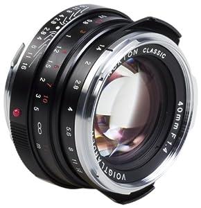 Amazon.com : Voigtlander Nokton 40mm f/1.4 Wide Angle Leica M Mount