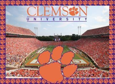 Clemson Tigers Jigsaw Puzzle - 1