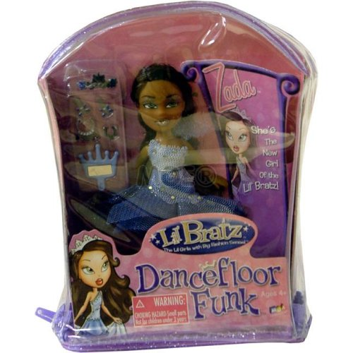 Lil Bratz Dancefloor Funk Zada - Buy Lil Bratz Dancefloor Funk Zada - Purchase Lil Bratz Dancefloor Funk Zada (MGA Entertainment, Toys & Games,Categories,Dolls,Playsets)