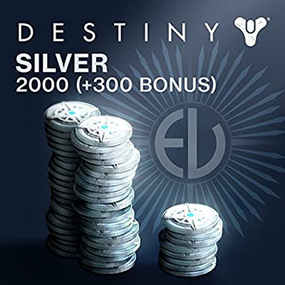 Destiny: 1000 (+100 Bonus) Destiny Silver - PS4 [Digital Code]