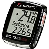 Sigma Sport BC12.12 STS Wireless Cycle Computer - Black