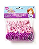 American Greetings 12 Count Sofia The First Charm Necklaces, Multicolored