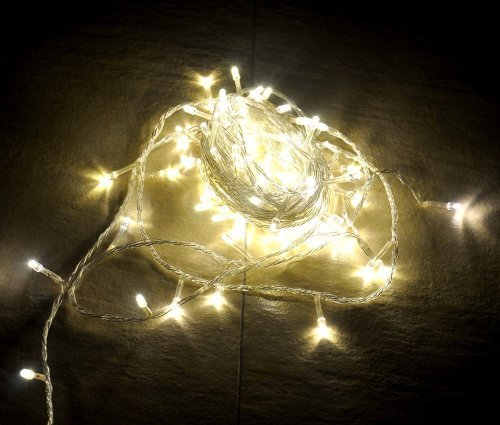 Willlight 10M 100 Led String Fairy Light For Wedding Christmas And Party With Tail Plug (Warm White)