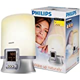 Philips HF3463 Wake-up Light with Radio Alarmby Philips