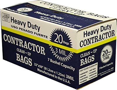 AEP Heavy Duty Can Liner (Multiple Sizes and Quantities)