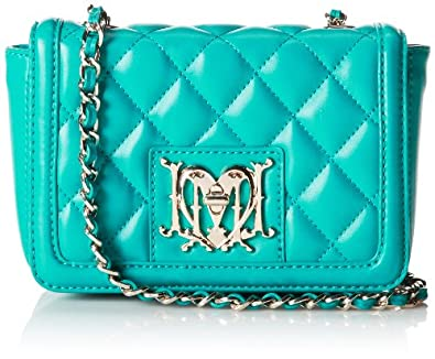 Love Moschino JC4246PP0YKG0702 Evening Bag,Turquoise,One Size