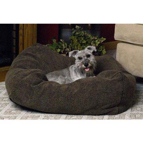 Cuddle Cube Dog Pillow Size: Medium , Color: Mocha