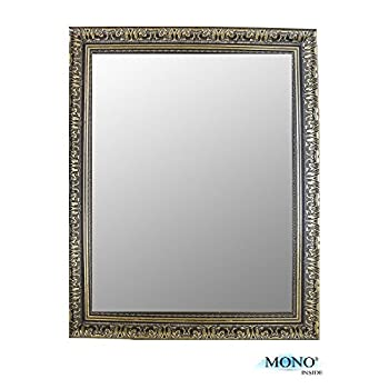 "MONOINSIDE® Classic, Antique & Vintage, Rectangular Square Wall Of Mirror, Size 18"" X 14"" Inches"