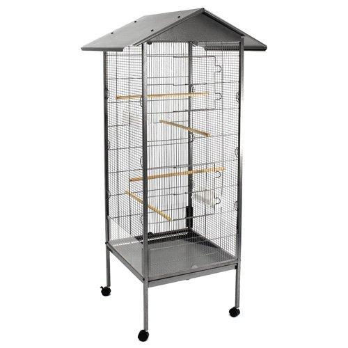 vogelk fig kaufen vergleich happypet vogelvoliere vogelk fig bd006 anthrazit. Black Bedroom Furniture Sets. Home Design Ideas