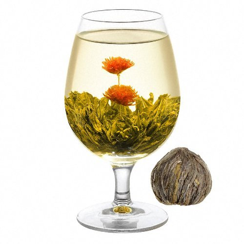 Welltea Double Happiness Flowering Green Tea (Weight Variations) 50G
