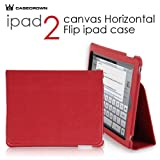 CaseCrown-Synthetic-Leather-Horizontal-Flip-Stand-Case-Red-for-the-Apple-iPad-2-Wifi---3G-Model-16GB-32GB-64GB